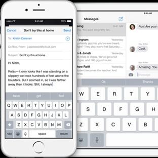 iOS 8.3 iPhone 6 Plus için Klavye Sorununu Çözüyor
