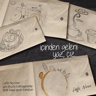 Kahveden İlham Alan Çizimler