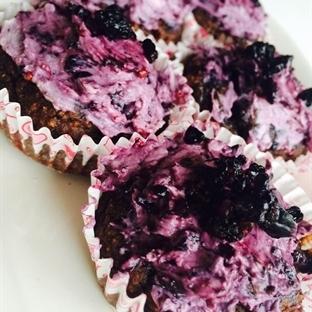 Karadut Ganaşlı Sağlıklı Muffinler