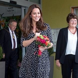 Kate Middleton'ın Hamile Stili!