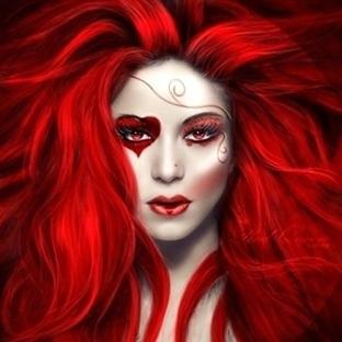 Kırmızı Kalpler Makyajlara İlham Olursa