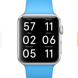 Life Clock: İlginç Apple Watch Uygulaması