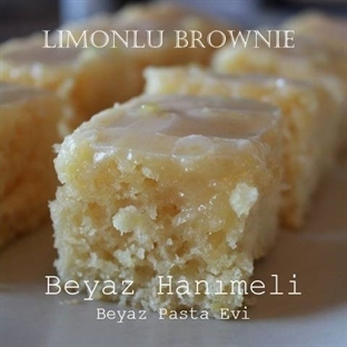 Limonlu brownie