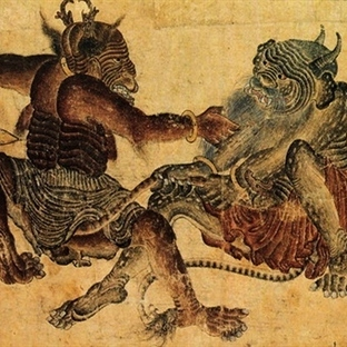 Mehmet Siyah Kalem'in Masalsı Figürleri