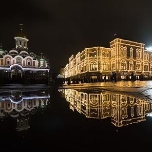 Moskova Kışın Güzel