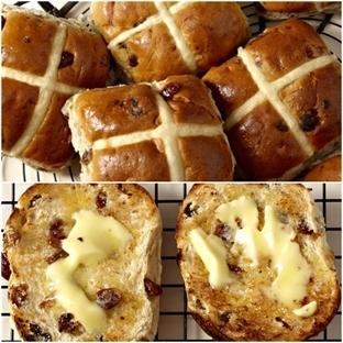 İngiliz Paskalya Çöreği (Hot Cross Buns)