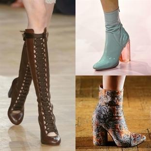 Paris: 2015 Sonbahar Kış Ayakkabı Modelleri