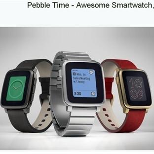 Pebble, KiskStarter'da 20 Milyon Doları Geçti!