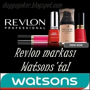 Revlon Artık Watsons'ta!