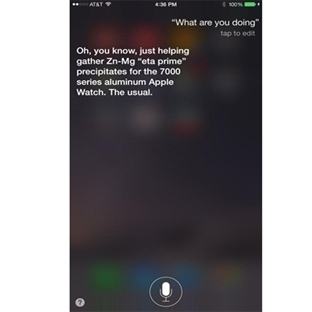 Siri'nin Apple Watch Ile İmtihanı!