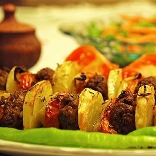 Şişte Sebzeli Köfte Tarifi