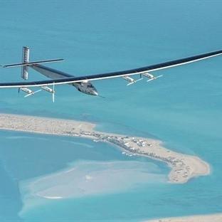 Solar Impulse 2 Dünya Turunun İlk Ayağına Bitirdi
