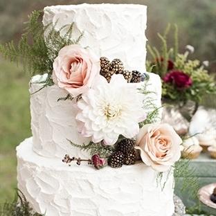 Sonbahar Temalı Düğün Pastaları