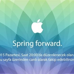 Spring Forward (Canlı Anlatım)