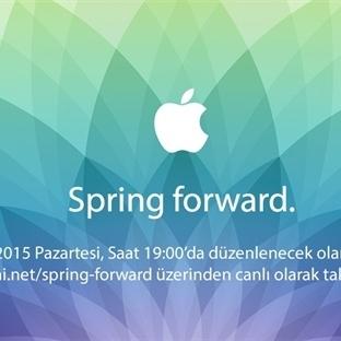Spring Forward Etkinliğinde Bugün Neler Olacak?