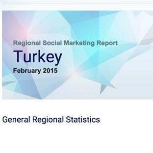 Şubat 2015 Türkiye Sosyal Medya Raporu