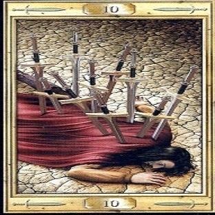 Tarot Falında Kılıç Onlusu Neler Anlatır