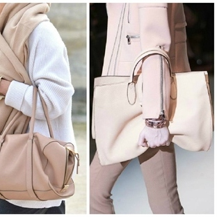 Trend: Pudra Rengi Çantalar