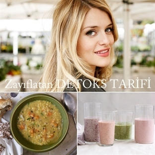 Victoria Secret Modelleri Detoks Smoothie Tarifi