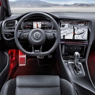 VW Golf R Touch, Tüm göstergeler Dijital
