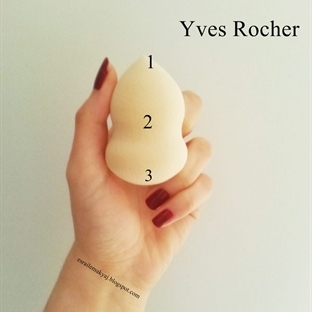 YVES ROCHER // MAKYAJ SÜNGERİ