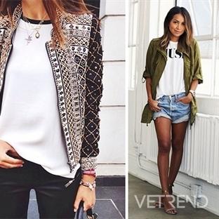 2015 Baharı İçin 6 Trend Ceket Stili