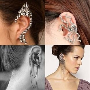2015 Ear Cuff Küpe Trendi