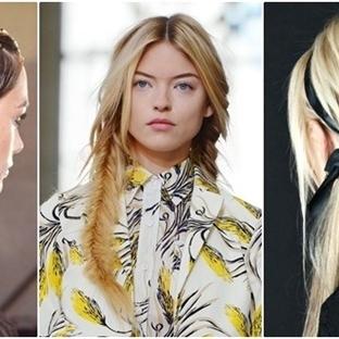 2015 İlkbahar Yaz Saç Trendleri