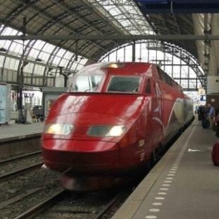 Amsterdam'dan Parise Tren Ulaşımı