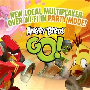 Angry Birds Go 'yu Arkadaşlarınızla Oynayın