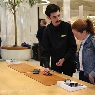 Apple Store'dan Apple Watch Için Görüntüler!