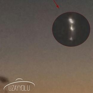 Aydın – İzmir Yolculuğunda UFO Gözlemi!