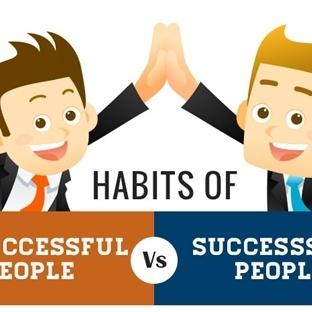 Başarılı ve başarısız insanların yaptıkları