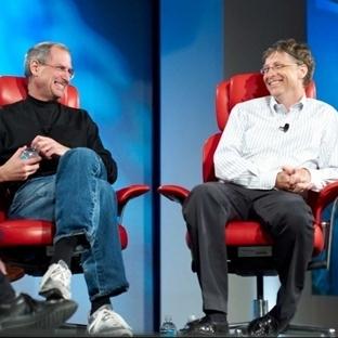 Bill Gates Kendisi ile Steve Jobs Arasındaki Farkı