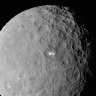 Ceres'teki Parlak Noktaların Gizemi!