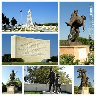 Destansı Topraklarda Şehitlikler ve Anıtlar - 4