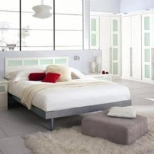 En güzel Beyaz Modern Yatak Odaları