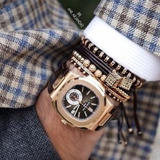 Erkekler için Bileklikli Saat Kombinleri