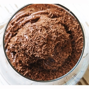 Ev Yapımı Kakaolu, Muzlu Dondurma