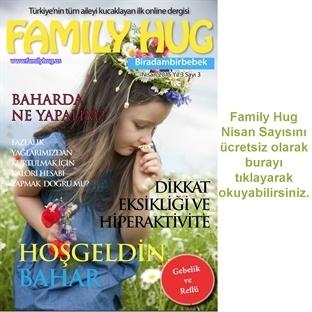 Family Hug Nisan 2015 Sayısı Yayında