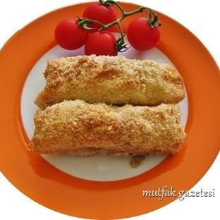 Fırında galeta unlu çıtır börek tarifi