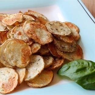 Fırınlanmış Patates Halkaları Tarifi