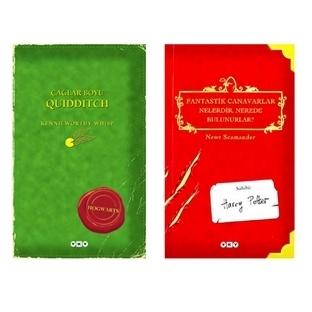 Hogwarts Kütüphane Kitapları Yeniden Basılıyor!!!