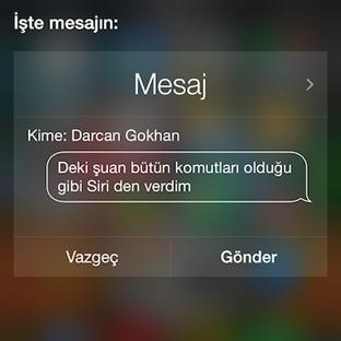 iOS 8.3 ile Türkçe Siri karşınızda!