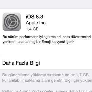 iOS 8.3'le Gelen Yeni Özellikler (Detaylı Rehber)