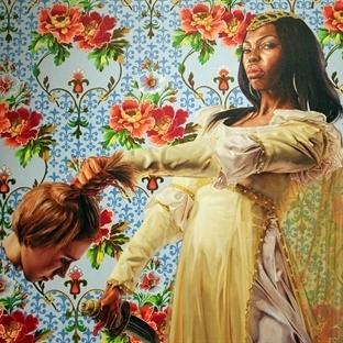 Kehinde Wiley: Sıra dışı 1 African-American ressam