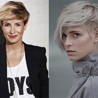 Kısa Modern Saç Modelleri