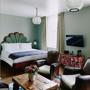 Londra'da Artist Residence Hotel Aydınlatma