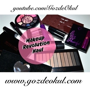 Makeup Revolution Haul – Alışveriş, Sohbet, Video