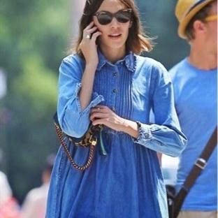 Moda: Denim Gömlek Elbise
